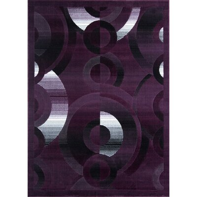 Mccomb Purple Area Rug