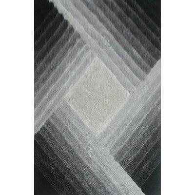 Shamane Gray Area Rug Rug Size: 53 x 72