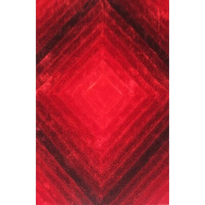Greyson Red Area Rug Rug Size: 2 x 3