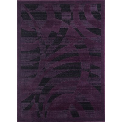 Mccomb Modern Purple Area Rug