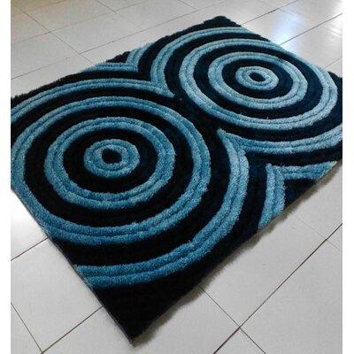 Dark Blue Area Rug Rug Size: 53 x 72