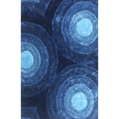 Priolo Blue Area Rug Rug Size: 4 x 6