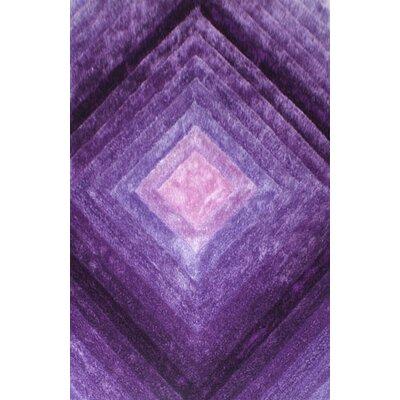 Embelton Purple Area Rug Rug Size: 53 x 72