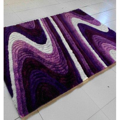 Purple Area Rug Rug Size: 711 x 910