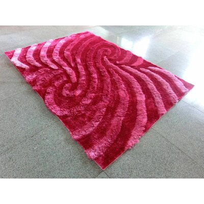 Pink Area Rug Rug Size: 711 x 910