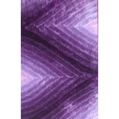 Priester Purple Area Rug Rug Size: 66 x 99