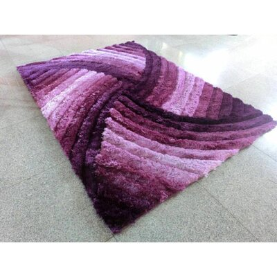 Purple Area Rug Rug Size: 3 x 5