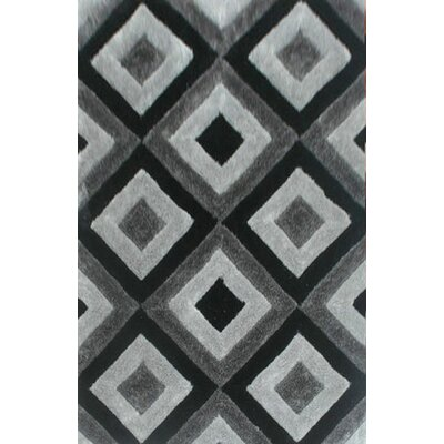 Tillett Gray Area Rug Rug Size: 2 x 3