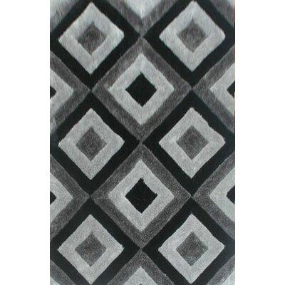 Tillett Gray Area Rug Rug Size: 3 x 5