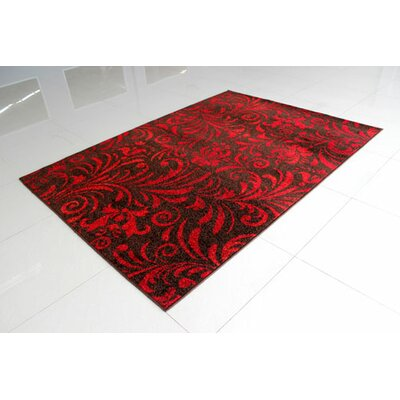 Brown/Red Area Rug Rug Size: 4 x 6