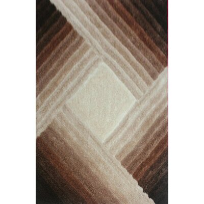 Mauriqua Brown Area Rug Rug Size: 3 x 5
