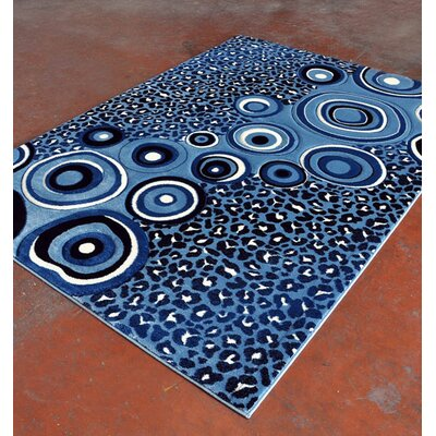 Light Blue Area Rug Rug Size: Runner 2' x 7'2