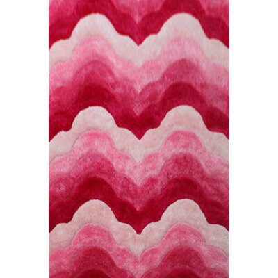 Devereaux Pink Area Rug Rug Size: 53 x 72