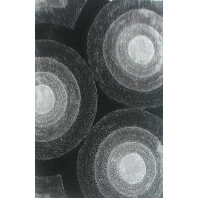 Prism Gray Area Rug Rug Size: 711 x 910
