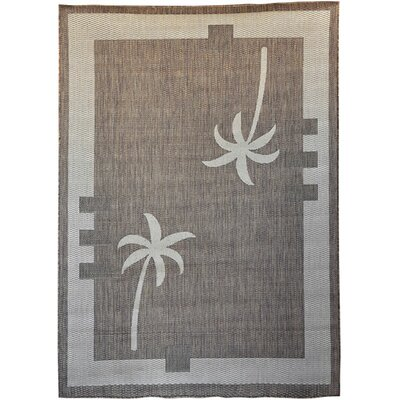 North Port Brown Area Rug Rug Size: 53 x 72