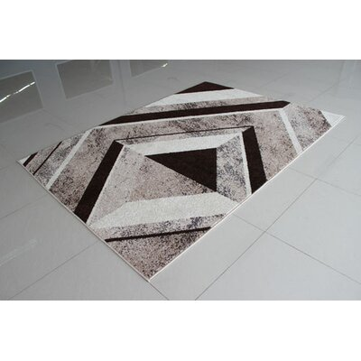Berber/Brown Area Rug Rug Size: 53 x 72