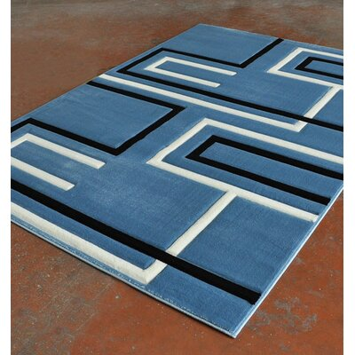 Light Blue Area Rug Rug Size: Runner 2 x 72