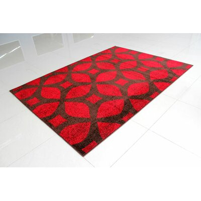 Brown/Red Area Rug Rug Size: Runner 2 x 72