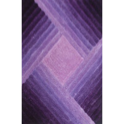 Watt Purple Area Rug Rug Size: 53 x 72
