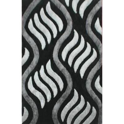Monchat Gray Area Rug Rug Size: 66 x 99