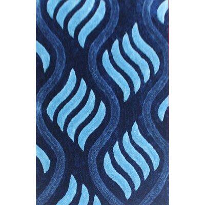 Israel Blue Area Rug Rug Size: 66 x 99
