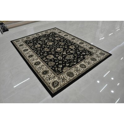 Black Area Rug Rug Size: Runner 27 x 146