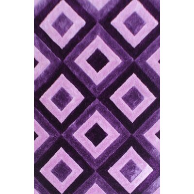 Wimberly Purple Area Rug Rug Size: 2 x 3