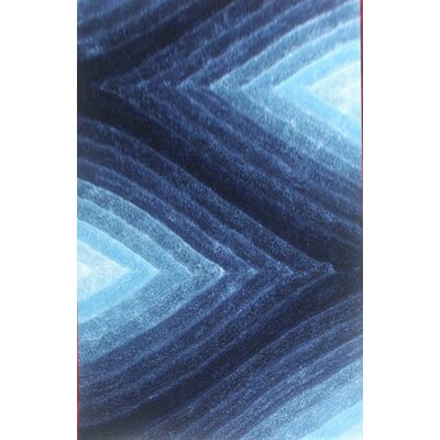 Prindle Blue Area Rug Rug Size: 2 x 3