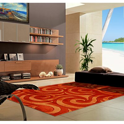Terracotta Area Rug Rug Size: 711 x 910
