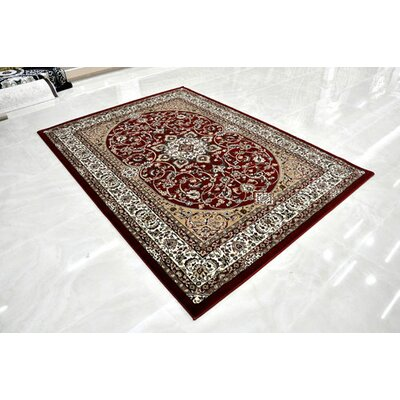 Red Area Rug Rug Size: Runner 27 x 146
