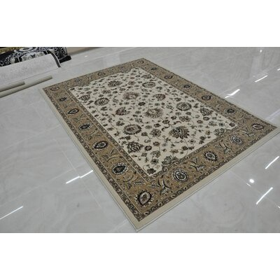 Cream Area Rug Rug Size: Runner 27 x 146