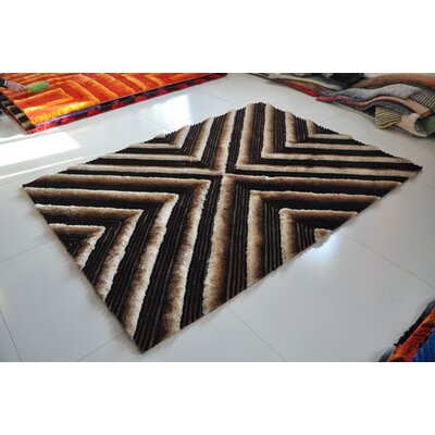 Chocolate Area Rug Rug Size: 711 x 910