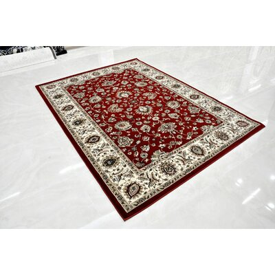 Red Area Rug Rug Size: Runner 27 x 910