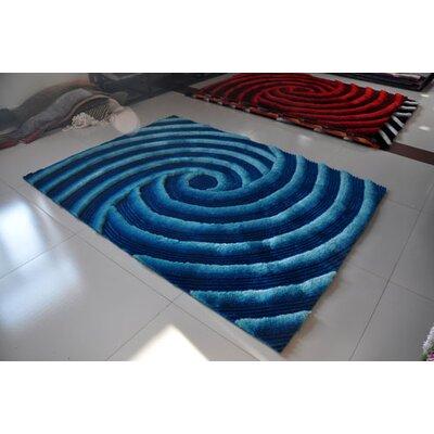 Turquoise Area Rug Rug Size: 711 x 910