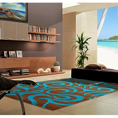 Turquoise Area Rug Rug Size: Runner 2 x 72