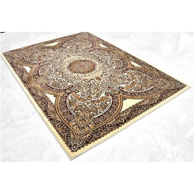 Cream Area Rug Rug Size: 7'11