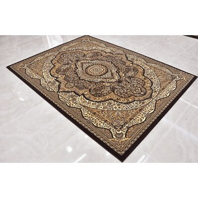 Brown Area Rug Rug Size: Runner 27 x 91