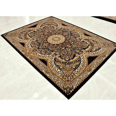 Brown Area Rug Rug Size: Runner 2'7