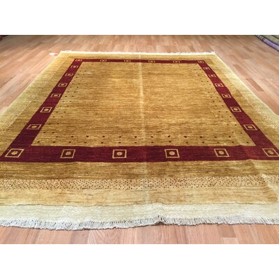 Falke Hand-Knotted Gold Area Rug