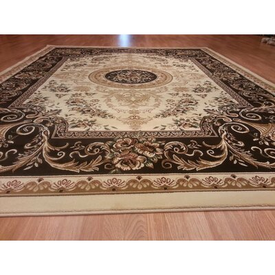 Rocheleau Ivory Area Rug Rug Size: Rectangle 66 x 99