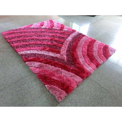 Seniel Pink Area Rug Rug Size: 7 x 10