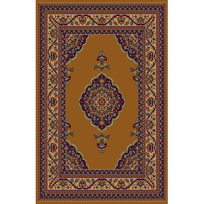 Cathy Gold Area Rug Rug Size: 711 x 910