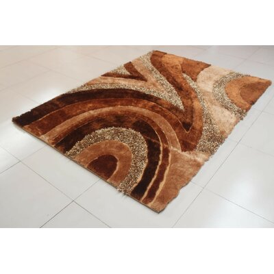 Devi Gold Area Rug Rug Size: 711 x 910