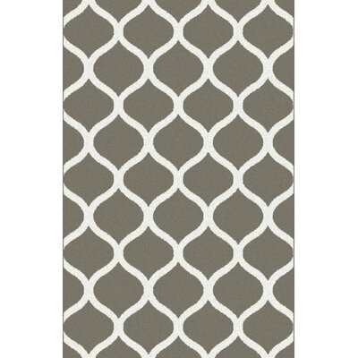 Levone Gray Area Rug Rug Size: 53 x 72