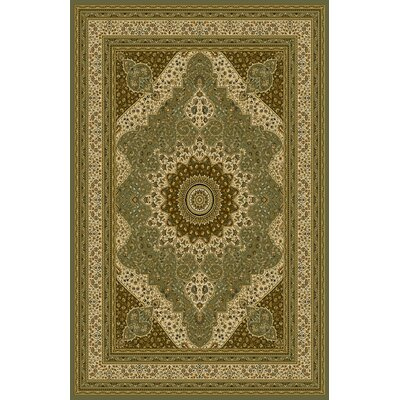 Bluffs Sage Green Area Rug Rug Size: 53 x 72