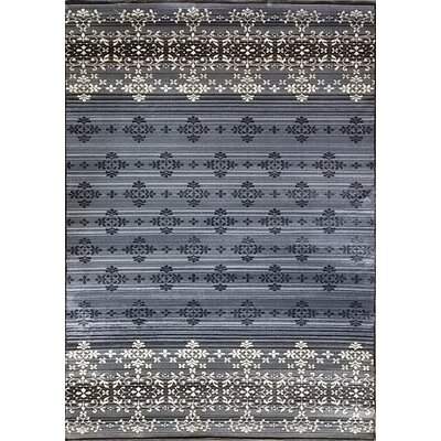 Cahlil Gray Area Rug Rug Size: Runner 27 x 910