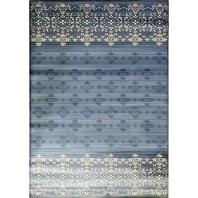 Cahlil Dark Blue Area Rug Rug Size: Runner 27 x 910