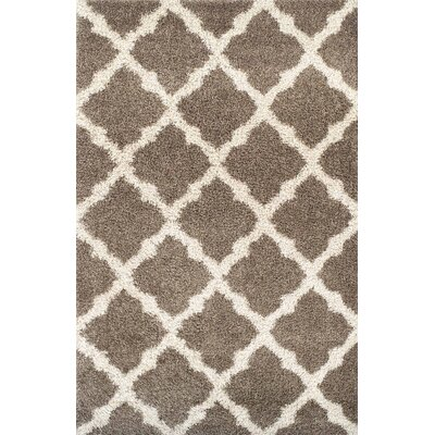 Tilman Brown Area Rug Rug Size: 53 x 72