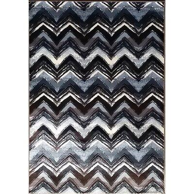 Geren Gray Area Rug Rug Size: 711 x 910