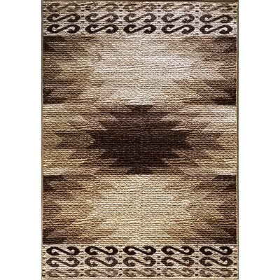 La Junta Brown Area Rug Rug Size: 711 x 910